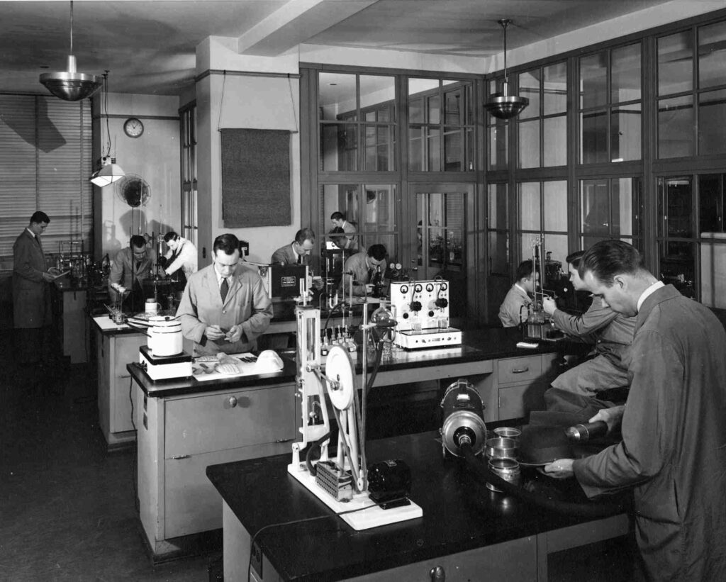 FBI Lab in World War II
